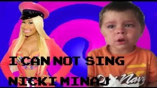 "Dustin Sings; ""I Can Not Sing Nicki Minaj"" Auto-Tuned Remix!"