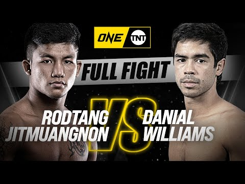 Rodtang vs. Danial Williams | ONE Championship Full Fight