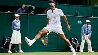 BEST TENNIS POINTS Of Wimbledon 2015 HD