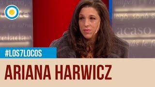 Ariana Harwicz en #Los7Locos - 17-08-2019 (Parte 2 de 3)