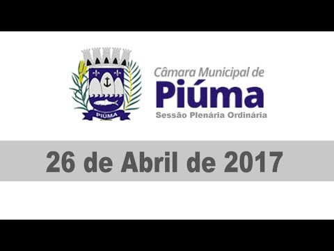 Sessão do dia 26/04/2017