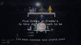 FNaF 1, 2, 3, And 4 Song MEGA Mashup