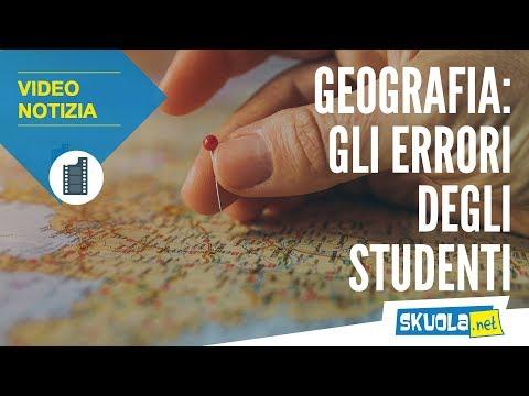 Geografia: gli errori più assurdi degli studenti
