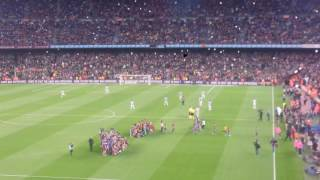 FC Barcelona gegen Real Sociedad 3:2 Camp Nou Part2