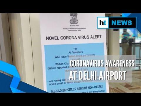 Coronavirus alert: Health ministry's awareness push at Delhi's IGI airport