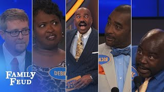 Family Feud's FUNNIEST Steve Harvey moments!!! | Part 13