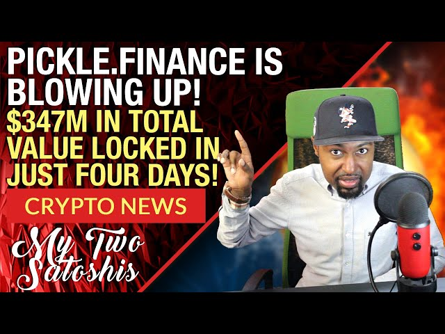 Defi Projects 2020: Pickle Finance On The Come Up! The Fed Made Bitcoin Go Up Today, Here's Why!
