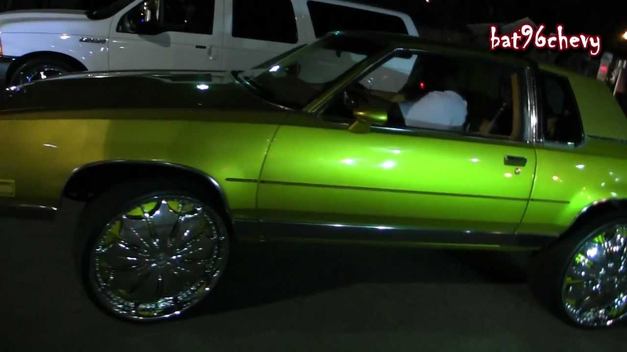 Candy Gold Cutlass Supreme On 26 Quot Dub Presidential