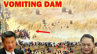 Dam Warning! China released floods to save the Three Gorges Dam, millions of people threatened