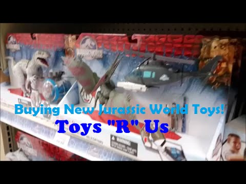 Buying New Jurassic World Toys At Toys
