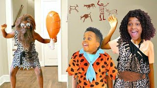 CAVEMAN vs Bad Baby Shiloh and Shasha - Onyx Kids