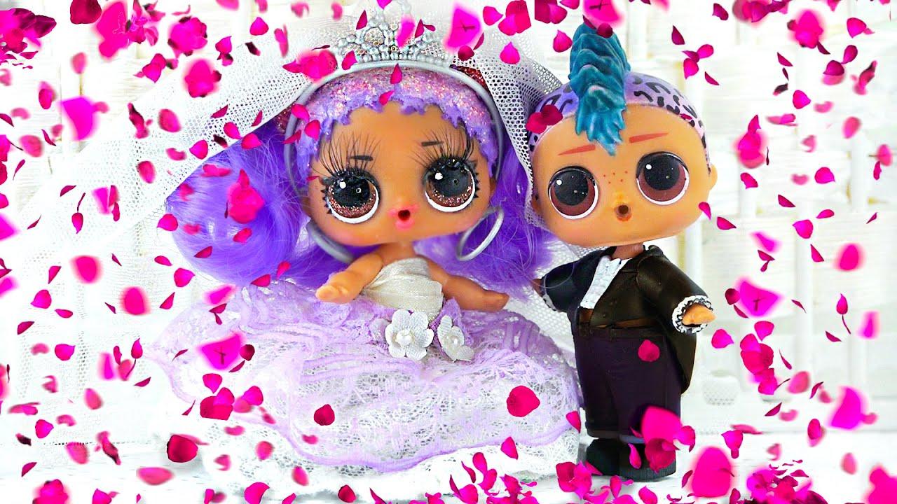 Свадьба Марии и Панки! У невесты самое красивое свадебное платье! Сериал ЛОЛ о любви про подростков
