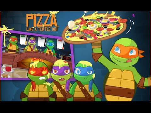 Games: Teenage Mutant Ninja Turtles - Pizza Like A Turtle Do