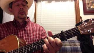 Keith Whitley - Don't Close Your Eyes Guitar Solo Arrangement  in Bb