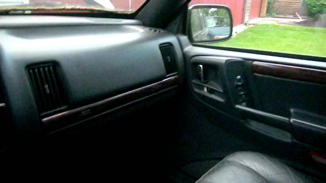 1997 jeep grand cherokee infinity gold audio system. - YouTube
