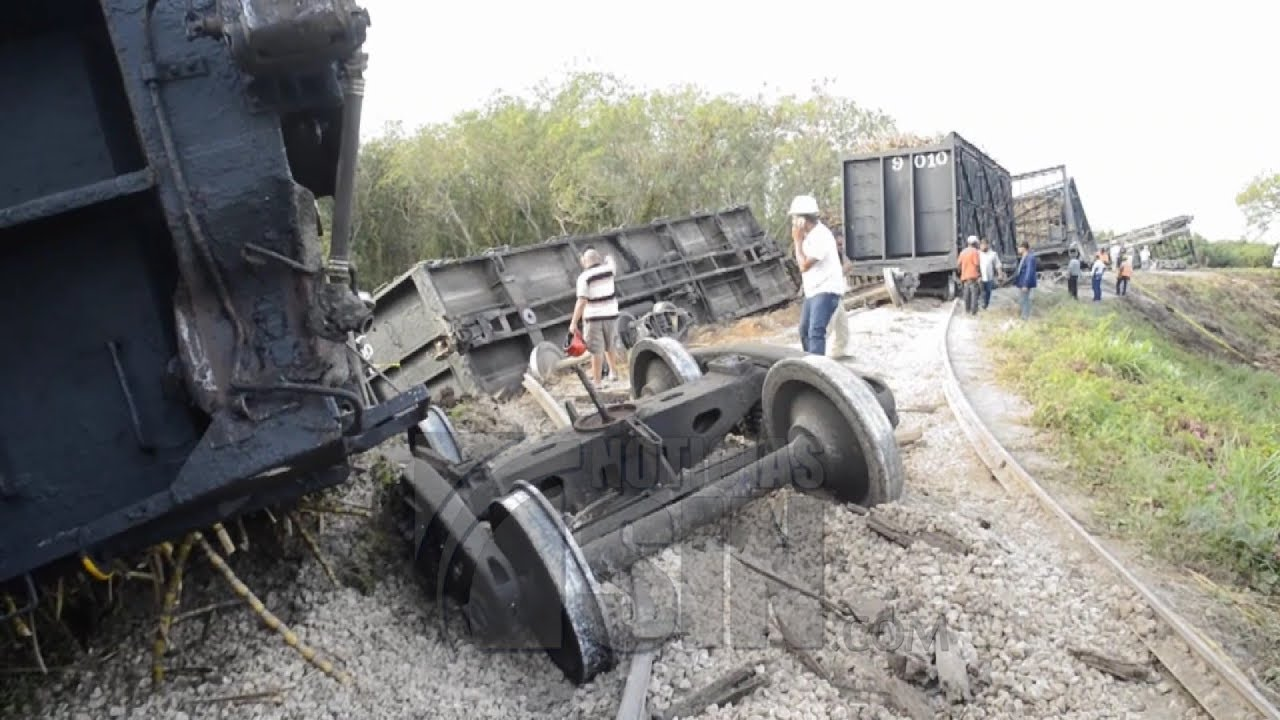 Image result for dos heridos durante accidente de locomotora se encuentran estables