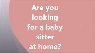 Baby sitter / nanny services in Hyderabad by Aasara Home Health Care