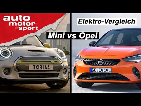 IAA 2019: Opel Corsa e vs. Mini Cooper SE - Welcher E-Zwerg ist besser? I auto motor und sport