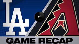 D-backs score 4 in 8th, hold on for 8-5 win | Dodgers-D-backs Game Highlights 6/24/19