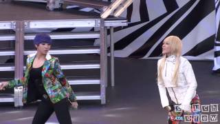 121110 2NE1 - Fire, Can't Nobody & I am the Best (Rehearsal) @ SBS Kpop Super Concert
