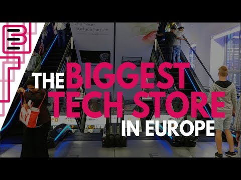 The BIGGEST Electronics Store in Europe!