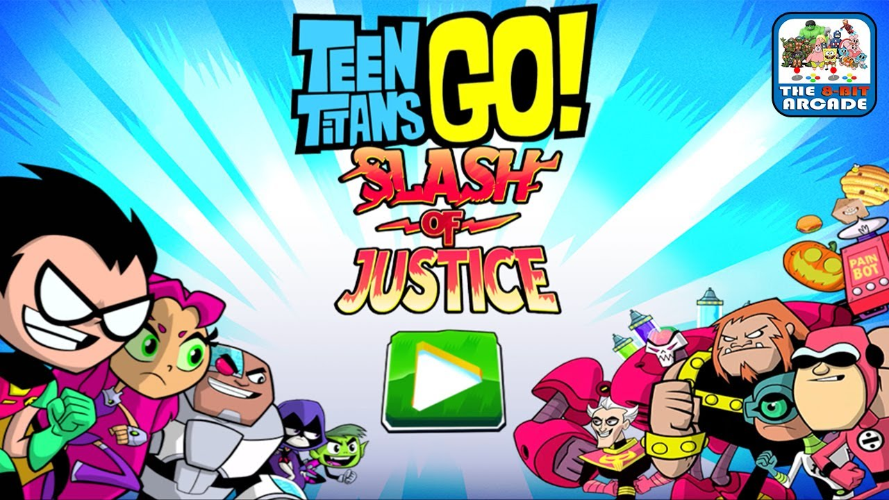 Teen Titans Go: Slash of Justice – Slash Through Waves of H.I.V.E. Five (Cartoon Network Games)