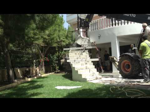 Garpozis Constructions: An easy way of how to demolish a concrete staircase (part2)