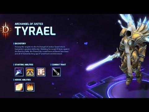 видео: heroes of the storm: Обзор героя tyrael.