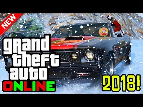 GTA 5 Online: 2018 Festive Surprise Update! Release Date, Snow Gameplay & More! (GTA 5 Online DLC)