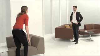 Мебель для зоны ожидания - TANGRAMis5 . Мягкая мебель для офиса от Интерштуль (Германия)(Офисные кресла, столы и стулья Interstuhl из Германии, продажа в Украине (Киев) на официальным сайте кресел дилер..., 2015-02-18T06:55:32.000Z)