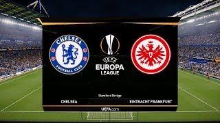 Chelsea vs Frankfurt (Semi-Final) Europa League 2019 Gameplay