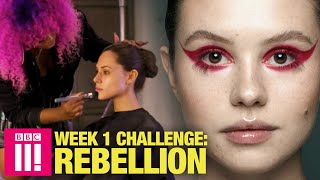 Rebellion Make-Up Challenge | Britain's Next Make-Up Star: Glow Up