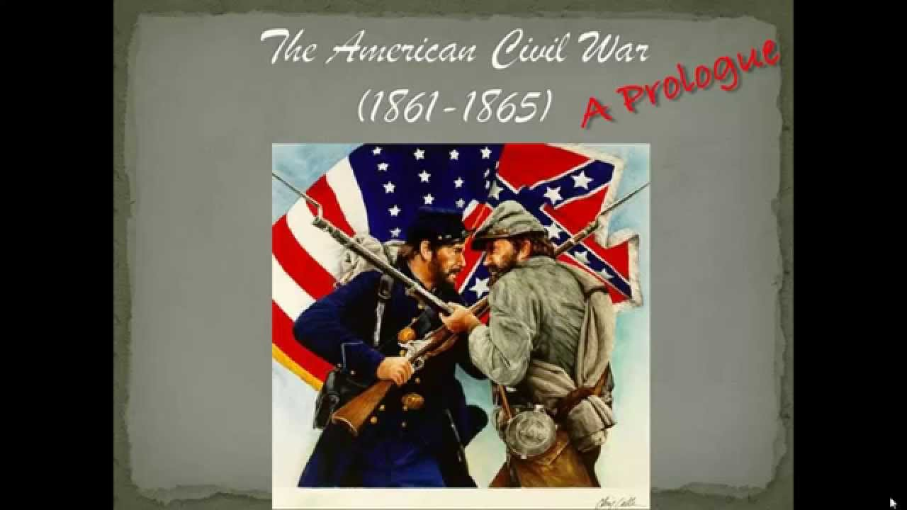 An introduction to the civil war in the united states