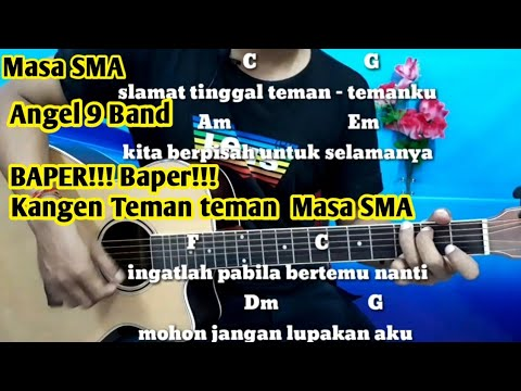 Chord  ANGEL 9 BAND  Masa SMA - Tutorial Gitar By Darmawan Gitar