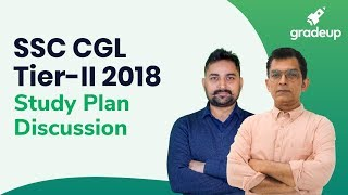 SSC CGL Tier-II Study Plan Discussion on 9 July @ 10:45 AM