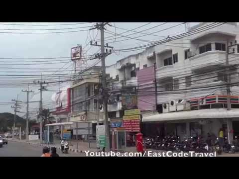 Aranyaprathet Bus station and Songthaew to Poipet border