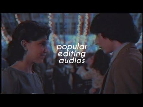 popular editing audios.