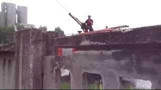"""TC """"Bingo"""" Lukavac, požar 27.07.2014."""