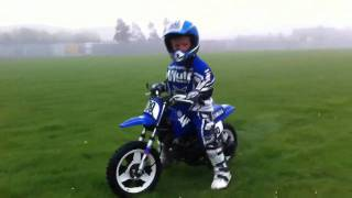 Jack First Go On His Yamaha Pw 50