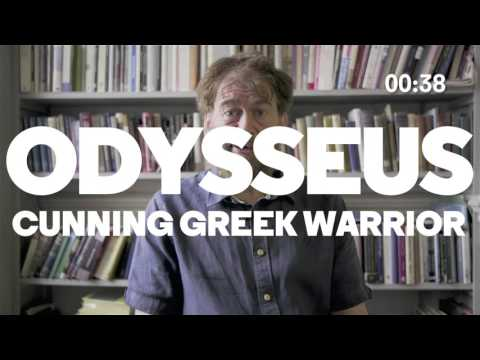 60-sec intro to The Odyssey with Simon Goldhill | Almeida Greeks | Almeida Theatre, London