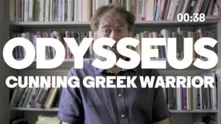 60-sec intro to The Odyssey with Simon Goldhill   Almeida Greeks   Almeida Theatre, London