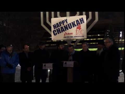 JRCC Public Menorah Lighting 2016 - Freedom to celebrate miracle of light in Canada (06)