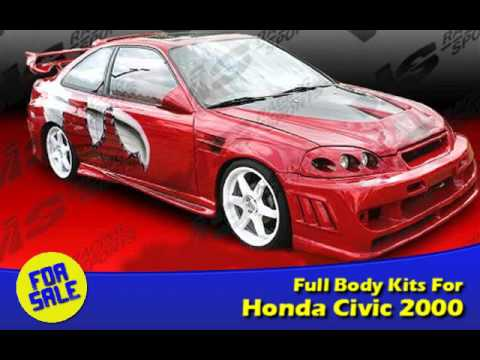 Body Kit For Honda Civic 2000