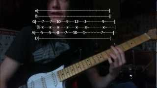 How To Play: (With Tabs) Alerion - Asking Alexandria Mp3