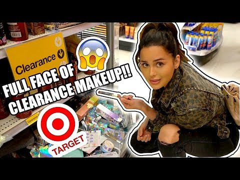 FULL FACE ONLY TARGET CLEARANCE MAKEUP!