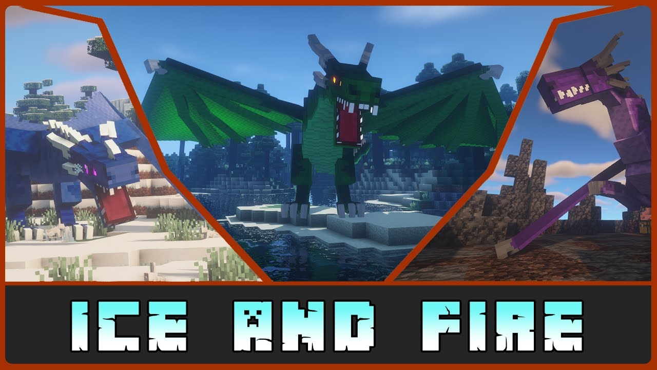 Minecraft: By the Gods A Dragon Ice and Fire 1 15 2/1 12 2