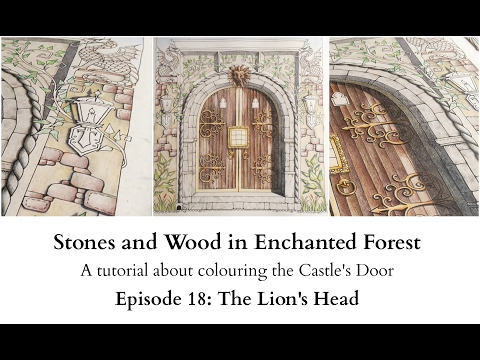 Stones and Wood in Enchanted Forest - Day 18 - The Lion's Head
