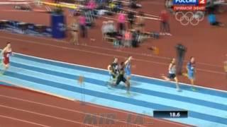 400м Финал B - Мужчины - Русская зима 2014