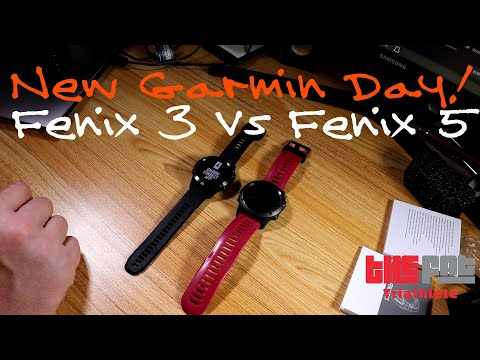 New Garmin - Fenix 3 Vs Fenix 5