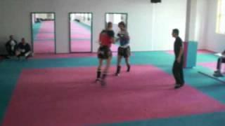 Muay Thai Boran / Muay Kaard Chiek    70 - 80 kg    Patrick (Bayern) vs. Raphael (Saarland)